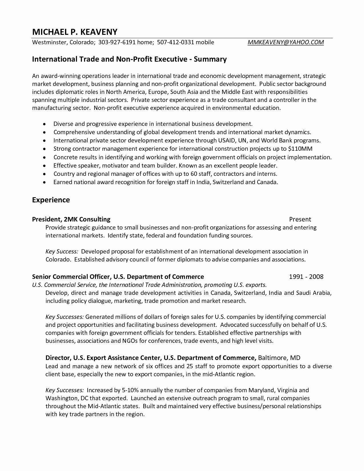 non profit resume template Collection-Business Resume Examples Fresh Resume or Cv Unique American Resume Sample New Student Resume 0d 5-j