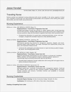 Nurse Manager Resume Template - Resume Sample Usa Style Archives Margorochelle