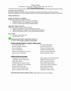 Office assistant Resume Template - 20 Inspirational Executive assistant Resume Samples Land Of
