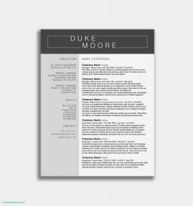 Open Office Resume Template 2017 - Resume Templates Open Fice 2017 How to Open A Resume Template In