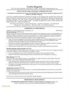Operation Manager Resume Template - Resume Examples for Retail Fwtrack Fwtrack