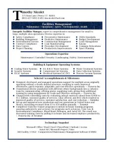 Operations Manager Resume - Facility Manager Resume Awesome Fresh Grapher Resume Sample