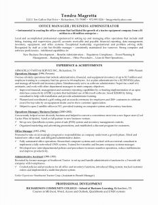 Operations Manager Resume - Retail Manager Job Description for Resume New 20 Operations Manager