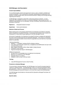 Operations Resume - Operations Manager Cover Letter Template Samples