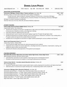 Paraprofessional Resume Template - Special Education Paraprofessional Resume Fresh Resume Sample for