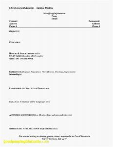 Paraprofessional Resume Template - 2018 Resume Templates for Students In High School