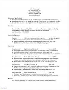 Paraprofessional Resume Template - Paraeducator Resume Sample Fresh Resume Examples for