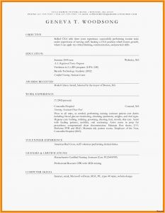 Pastoral Resume Template - Objective In A Resume Lovely Resume Examples Basic Nice Pastor