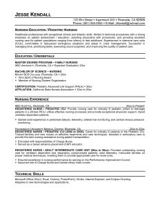 Pediatric Nurse Resume - Staff Nurse Resume Inspirational Bsn Resume Examples Best Nurse