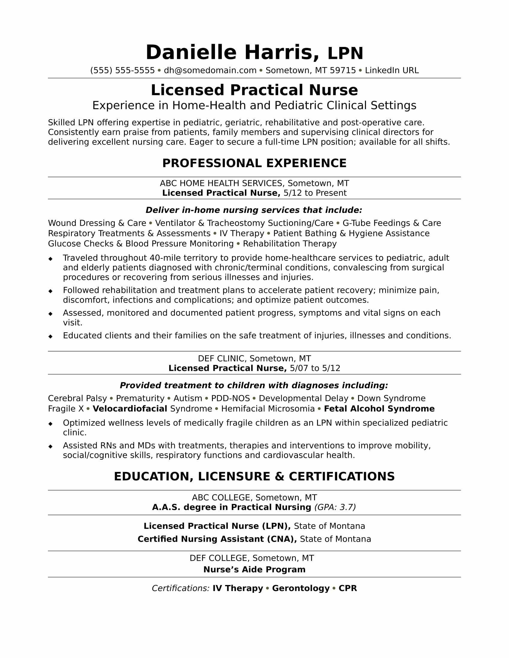 pediatric nurse resume Collection-Nurses Resume Format Fresh Elegant New Nurse Resume Awesome Nurse Resume 0d Wallpapers 42 New 12-a