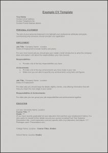Perfect Resume - Sample First Job Resume Save Example Perfect Resume Fresh Examples