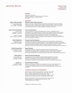 Performance Resume Template - Personal assistant Resume Sample New Elegant Resume Cv Executive