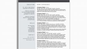 Photography Resume Template Free - What Does A Modern Resume Look Like Simple Free Modern Resume