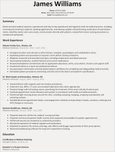 Physician Resume Template Word - Microsoft Word Template for Resume Save Free Resume Template for