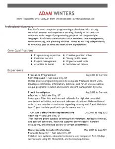 Plain Text Resume Template - 40 Standard Build A Free Resume