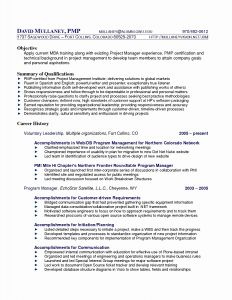 Pmi Resume - Action Verbs for Resumes Action Verbs for Resume Lovely Elegant