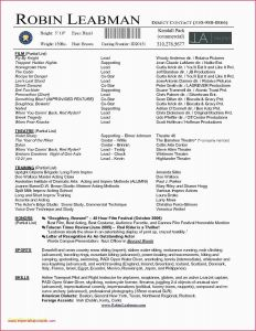 Professional Actor Resume Template - Letter format for Japanese Resume Template Lovely I Pinimg