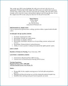 Public Health Resume Template - Nurse Resume Template Lovely Nursing Resume Lovely Rn Bsn Resume