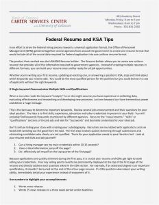 Qa Lead Resume Template - 24 Free Federal Resume Templates Sample