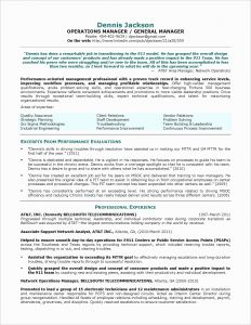 Qa Resume - Building Maintenance Resume New Federal Government Resume Template