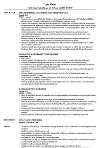 Radiology Resume - Radiology Resume Unique Sample Resume for Radiology Nurse at Resume