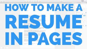 Ramit Sethi Resume Template - How to Make A Resume In Pages for Mac