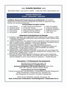 Rbs Resume Template - Hr Director Resume Unique 20 Director Business Development Resume