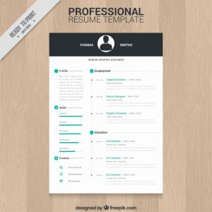 Responsive Resume Template Free Download - Responsive Resume Template Free Download Best Print Hloom Modern