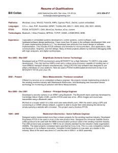 Resume Accomplishments Resume - 38 Standard Ac Plishments for Resume