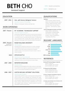 Resume Bootstrap Template Free - Resume Website Examples New Resume Website Template Free