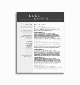 Resume Cover Letter Template Google Docs - Resume Template for Google Docs Save 40 Inspirational Google Docs