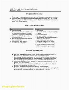 Resume Entry Level Template - Good Things to Put A Resume Elegant Elegant Entry Level Resume
