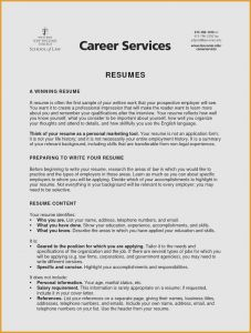 Resume Entry Level Template - Entry Level Marketing Resume Type A Resume Beautiful New Entry Level
