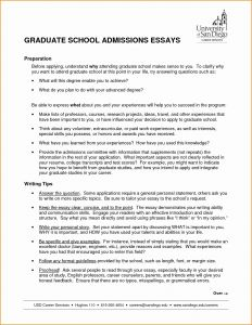 Resume for Graduate School Admission Template - Graduate School Cover Letter Template Examples