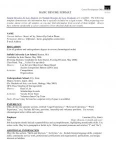 Resume for Law School Application Template - 45 Awesome Lawyer Resume Sample
