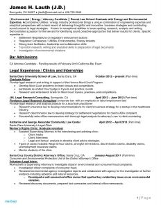 Resume for Law School Application Template - 31 Best Legal Templates