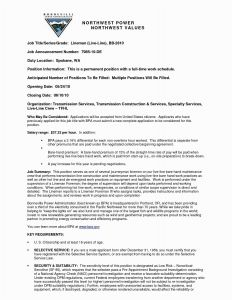 Resume Template Electrician - Electrical Resume Examples Valid 10 Amazing Apprentice Electrician