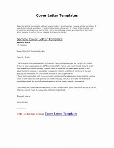 Resume Template for Actors - Sample Cover Letter for Job Beautiful Cfo Resume Template
