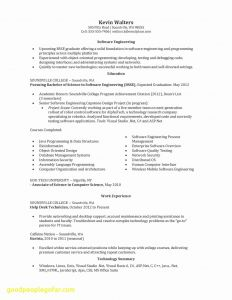 Resume Template for Computer Science - 43 Awesome Engineering Resume Templates Puter Template Puter