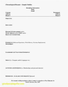Resume Template for Graduate Students - Sample Resume for Recent High School Graduate Reference Unique