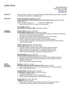 Resume Template for Kids - Teaching Resume Examples Fresh Elegant Resume for Highschool