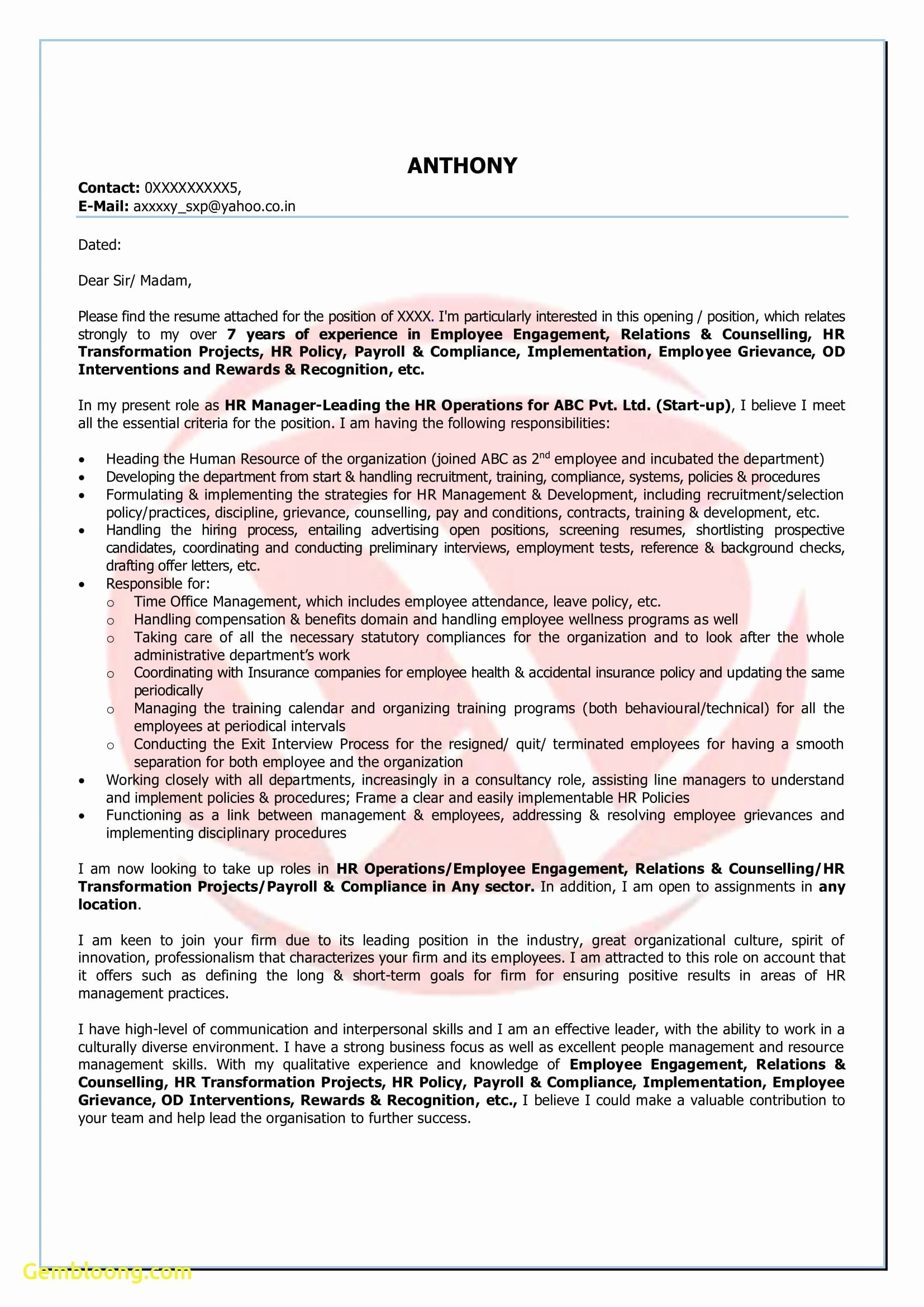 9 resume template for libreoffice samples