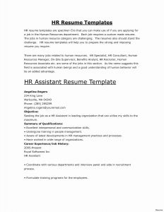 Resume Template for Maintenance Position - How to Put to Her A Resume Beautiful Self Employed Resume New