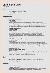 Resume Template for Office Administrator - 19 Inspirational Cover Letter Fice Manager Free Resume Templates