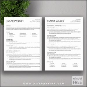 Resume Template for Pages Mac - Mac Pages Resume Templates Luxury Resume Templates Mac Free Free
