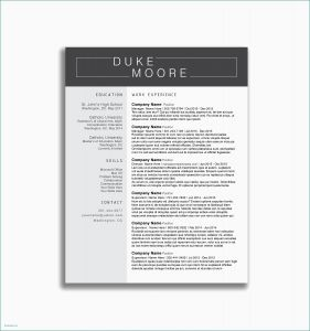 Resume Template for Part Time Job - How to Write A Excellent Resume Resume for Part Time Job Best Fresh