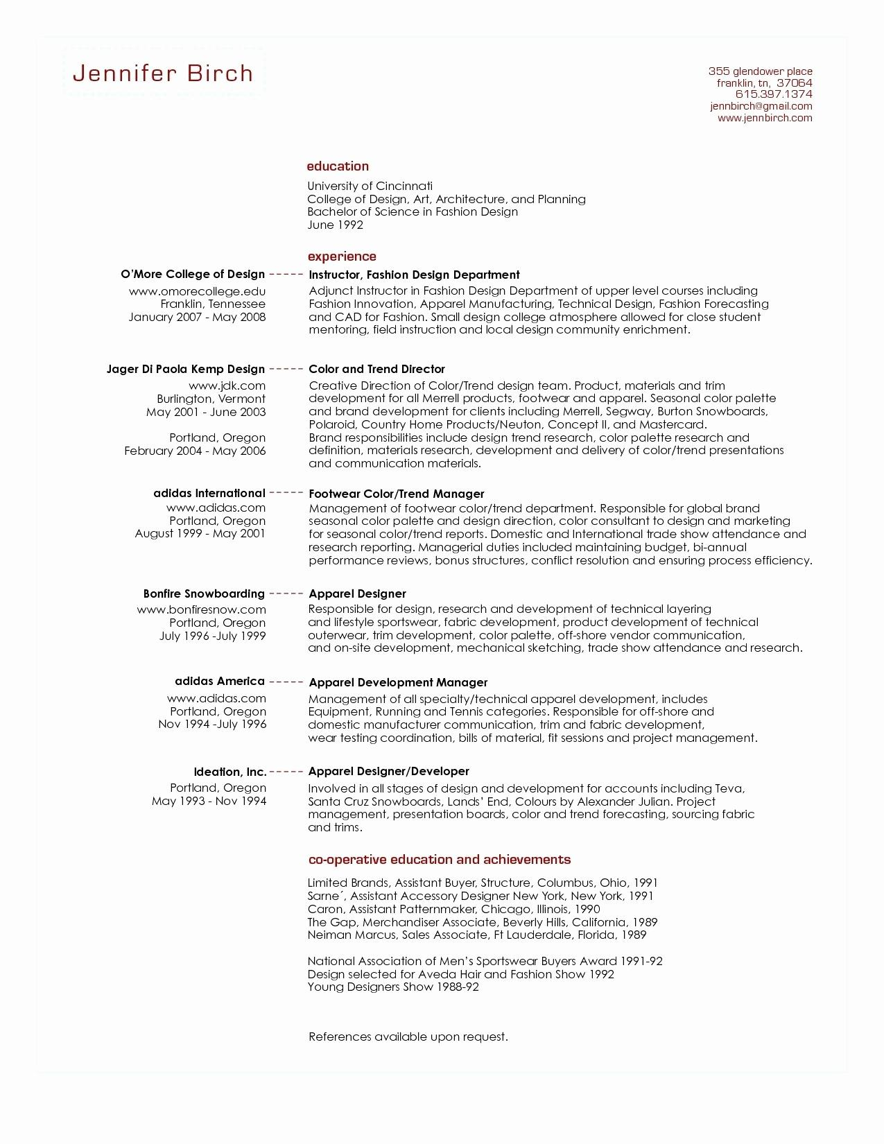 8 Resume Template for Scientist Examples