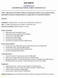 Resume Template for Teacher assistant - New Teacher Resume Lovely Resume Template Samples Myacereporter