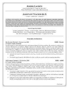 Resume Template for Teacher assistant - Pin by Job Resume On Job Resume Samples Pinterest