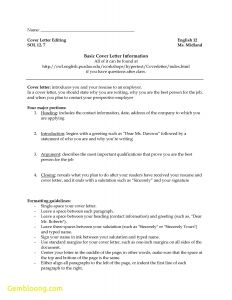 Resume Template Purdue - Resume Cover Letter Examples Purdue Owl Template 9